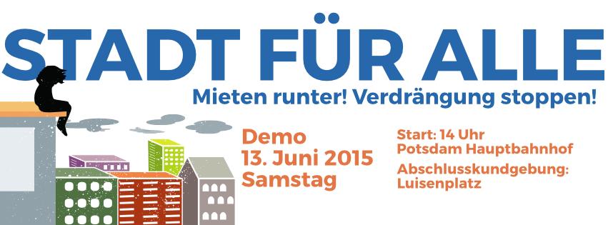 Stadt-für-Alle-Demo 13. Juni 14 Uhr Hauptbahnhof