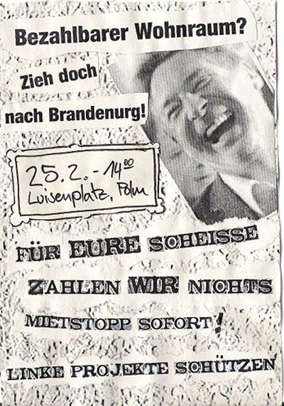 demo flyer Samstag 25.02.2012 Wohnraum muss bezahlbar sein!
